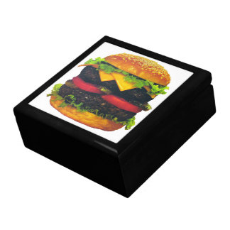 Double Deluxe Hamburger with Cheese Gift Box