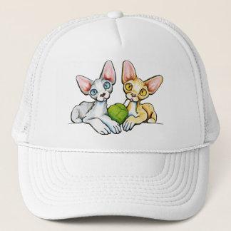 Double Devons Trucker Hat