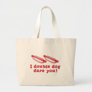 Double Dog Dare Hat Canvas Bags