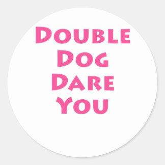 Double Dog Dare You Sticker