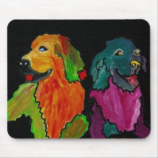 Double Dog Duty Mousepad