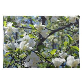 Double Dogwood Flower Placemat