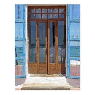 Double Doors Post Card