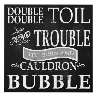 Double Double Toil Panel Wall Art