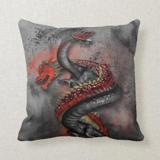 Double Dragon 2 Throw Pillow