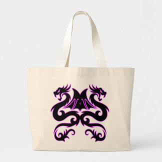 Double Dragon Tote Bags