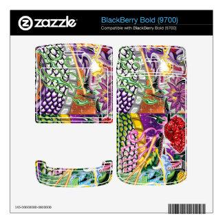 Double Dragon BlackBerry Bold 9700 Vinyl Skin BlackBerry Bold Skin