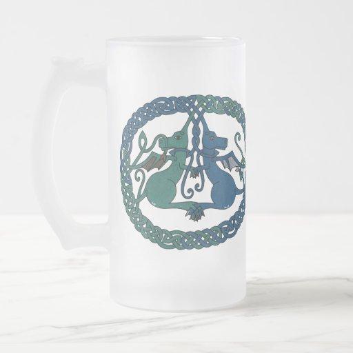 Double Dragon Crest mug