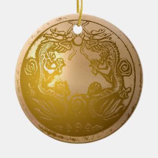 Double Dragon ornament