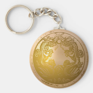Double Draogn keychain