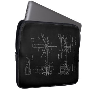 Double Drum Beating Apparatus Computer Sleeve