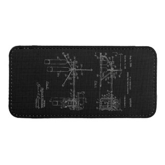 Double Drum Beating Apparatus iPhone SE/5/5s/5c Pouch