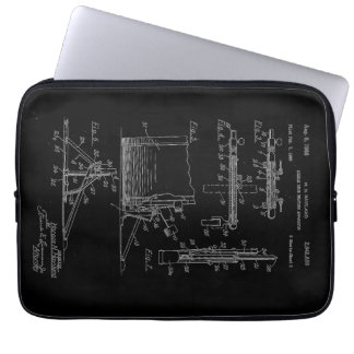 Double Drum Beating Apparatus pg 2 Laptop Sleeve