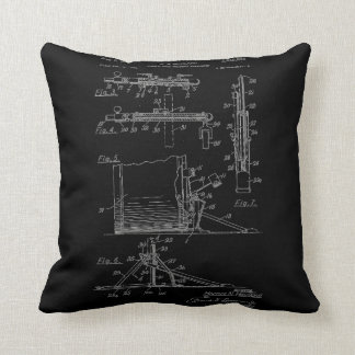 Double Drum Beating Apparatus pg 2 Throw Pillow
