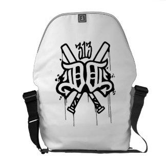 Double D's Detroit Messenger Bag