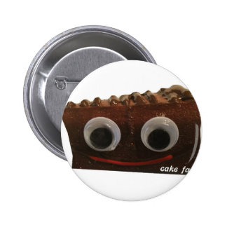 double dutch choco cake face w logo pinback button
