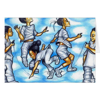 double dutch greeting card