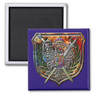 Double Eagle Coat of Arms Magnet