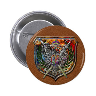 Double Eagle Coat of Arms Pin