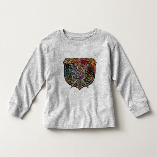 Double Eagle & Crossed Swords Shield Crest Toddler T-shirt