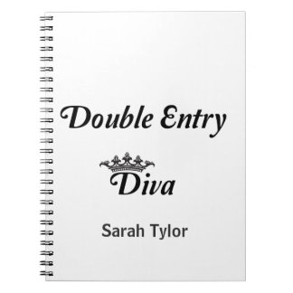 Double Entry Diva Notebook