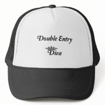 Double Entry Diva Trucker Hat