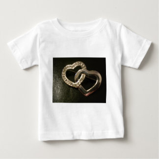 Double Entwined Love Hearts Infant T-shirt