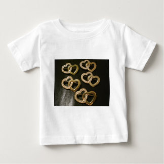 Double Entwined Love Hearts T Shirt