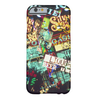Double exposure, casino signs, Las Vegas, Barely There iPhone 6 Case