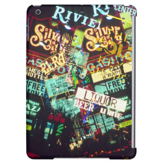 Double exposure, casino signs, Las Vegas, iPad Air Cases