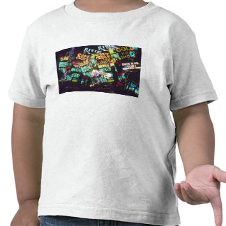 Double exposure, casino signs, Las Vegas, T Shirts
