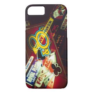 Double exposure, interior Casino, Las Vegas, iPhone 7 Case