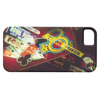 Double exposure, interior Casino, Las Vegas, iPhone SE/5/5s Case