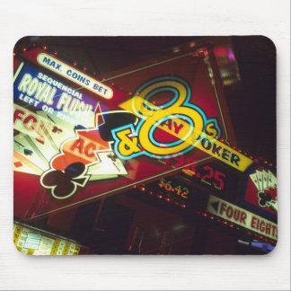 Double exposure, interior Casino, Las Vegas, Mouse Pad