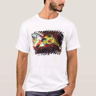 Double exposure, interior Casino, Las Vegas, T-Shirt