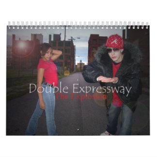 Double expressway calendar