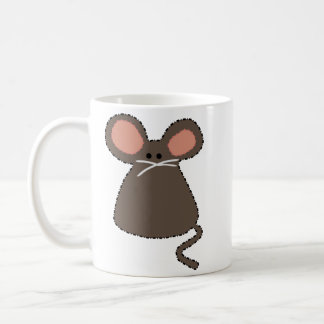 double face chargable mouse classic white coffee mug