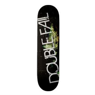 double fail grunge skateboard deck custom build