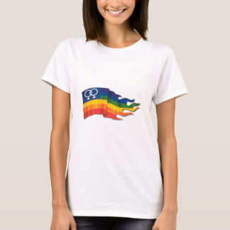 Double Female Pride Flag T-Shirt