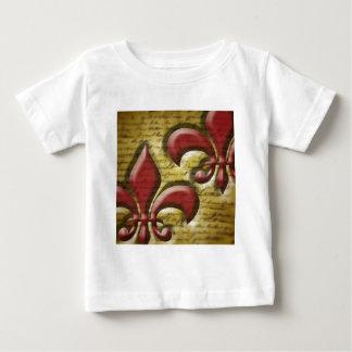 Double Fleur de Lis Baby T-Shirt
