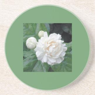 Double Gardenia Coaster