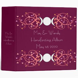 Double Goddess Wiccan Lesbian Handfasting Album Binder