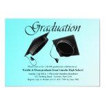 """Double Graduation Invitation 5"""" X 7"""" Invitation Card"""