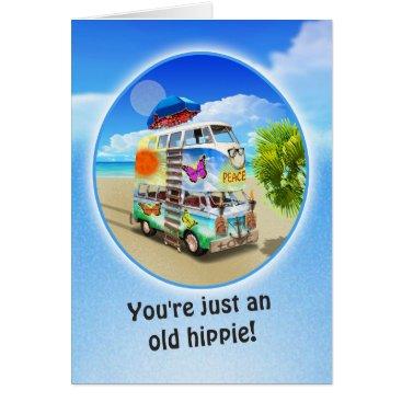 Double Groovy Birthday Card