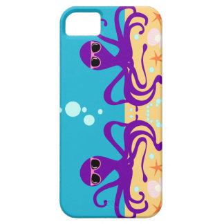 Double Groovy Octopus iPhone SE/5/5s Case