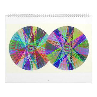 Double Happiness 2017 Rainbow Calendar