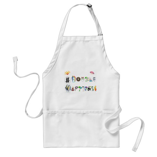 double happiness adult apron
