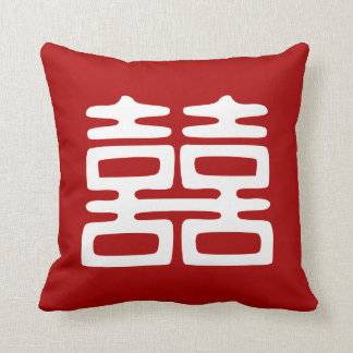 Double Happiness • Bold Pillow