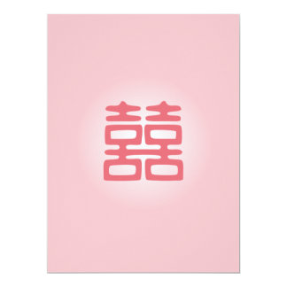 Double Happiness • Bold • Pink Card