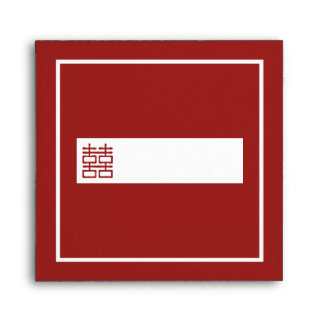 Double Happiness Chinese Wedding Envelopes
